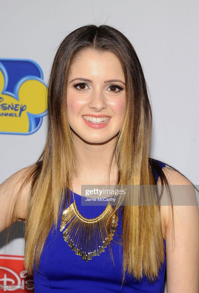 Laura Marano attends the Disney Channel Kids Upfront 2013 at Hudson Theatre on March 12, 2013 in New York City.