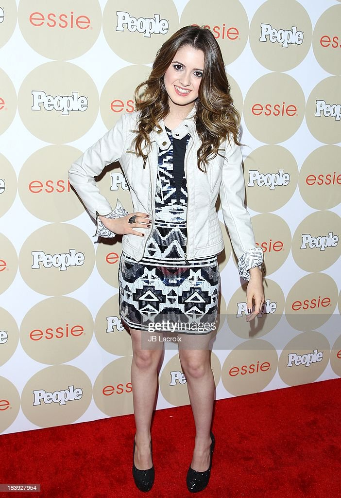 <a gi-track='captionPersonalityLinkClicked' href=/galleries/search?phrase=Laura+Marano&family=editorial&specificpeople=2546967 ng-click='$event.stopPropagation()'>Laura Marano</a> attends the People's One To Watch Event held at Hinoki & The Bird on October 9, 2013 in Los Angeles, California.