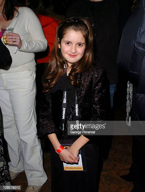 Laura Marano during 2005 Sundance Film Festival 'The Jacket' Premiere After Party at Yoga Studio in Park City Utah United States