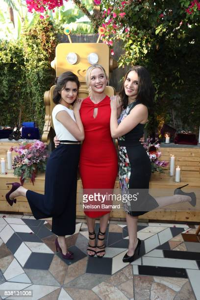 Laura Marano Greer Grammer and Vanessa Marano attend the Ted Baker A/W '17 Launch Dinner at Sawyer on August 23 2017 in Los Angeles California