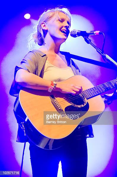 Laura Marling performs as part of the Serpentine Summer Sessions at Hyde Park on July 1 2010 in London England