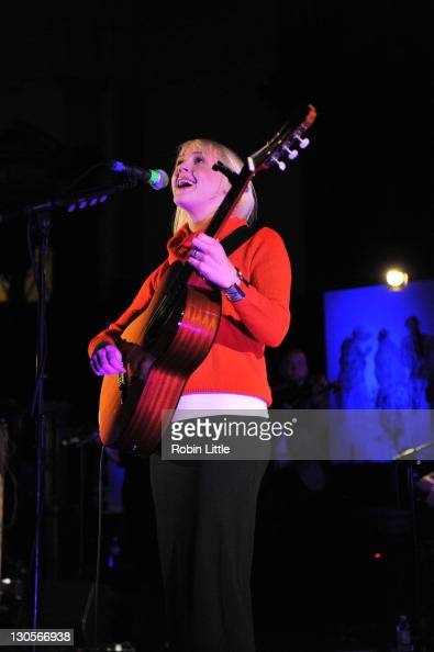 Laura Marling performs at Central Hall Westminster on October 26 2011 in London United Kingdom