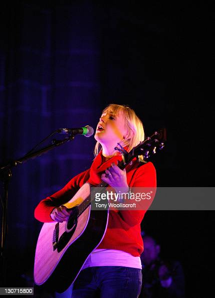 Laura Marling performs at Liverpool Cathedral on October 28 2011 in Liverpool England
