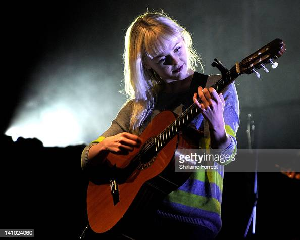 Laura Marling performs at Manchester Apollo on March 9 2012 in Manchester England
