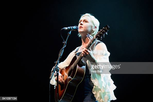 Laura Marling performs at Meldown Festival curated by Guy Garvey at Royal Festival Hall on June 18 2016 in London England