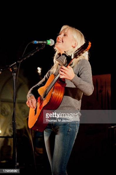 Laura Marling performs at York Minster on October 21 2011 in York United Kingdom