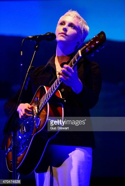 Laura Marling performs on stage at Queen Elizabeth Hall on April 20 2015 in London United Kingdom