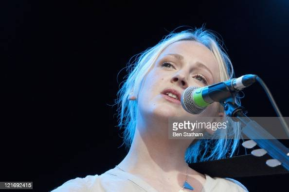 Laura Marling performs on stage at the Green Man Festival on August 21 2011 in Brecon United Kingdom