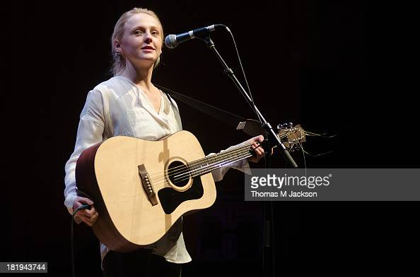 Laura Marling performs on stage at The Sage on September 26 2013 in Gateshead England
