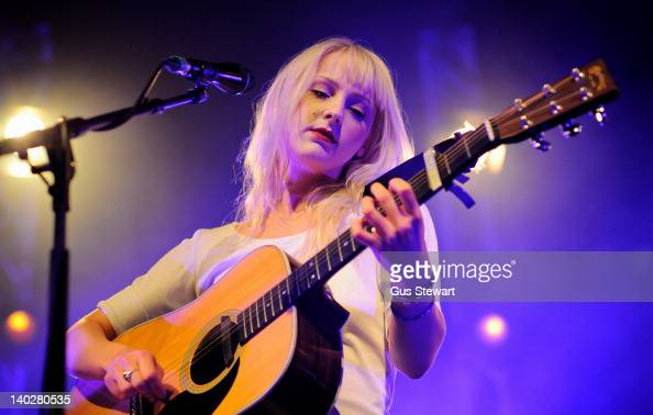 Laura Marling performs on stage at the start of her tour at Cambridge Corn Exchange on March 1 2012 in Cambridge United Kingdom