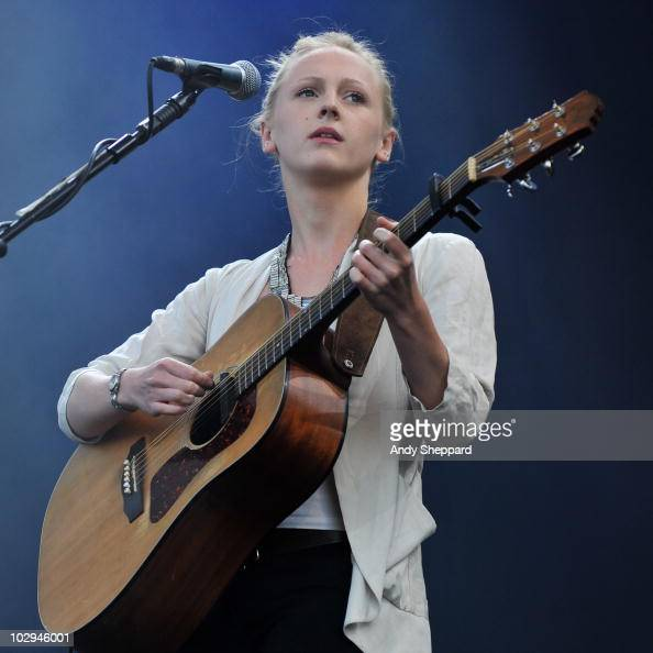 Laura Marling performs on stage during day 1 of Latitude Festival 2010 at Henham Park Estate on July 16 2010 in Southwold England