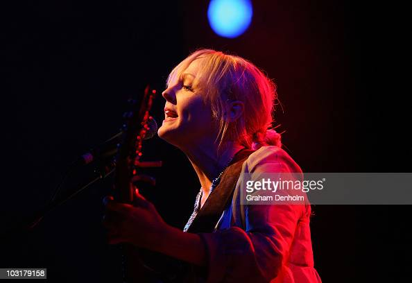Laura Marling performs on stage during Day 2 of the Splendour in the Grass music festival at Woodfordia on July 31 2010 in Woodford Australia