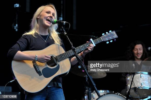 Laura Marling performs on stage during End Of The Road Festival 2011 at Larmer Tree Gardens on September 4 2011 in Farnham United Kingdom