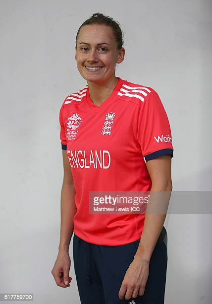 Laura Marsh of England women pictured ahead of the Women's ICC World Twenty20 India 2016 match between England and Pakistan at Chidambaram on March...