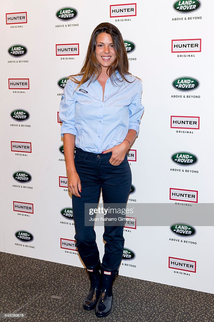 Laura Matamoros attends 'VII Land Discovery Challenge' photocall at Ilunion Hotel on June 27, 2016 in Madrid, Spain.