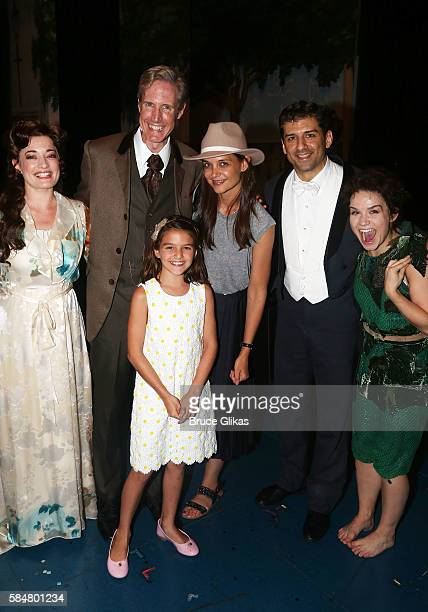 Laura Michelle Kelly as 'Sylvia Llewelyn Davies' Paul Slade Smith as 'Charles Frohman' Suri Cruise mother Katie Holmes Tony Yazbeck as 'JM Barrie'...