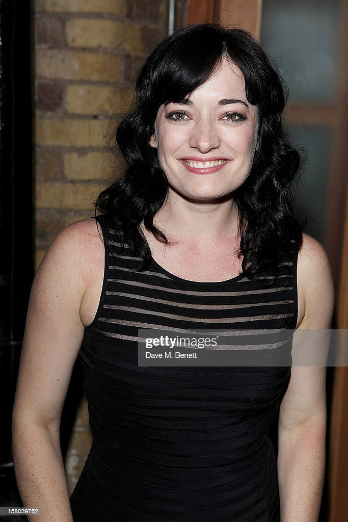 Laura Michelle Kelly attends an after party celebrating the 24 Hour Musicals Gala Performance at Vinopolis on December 9, 2012 in London, England.