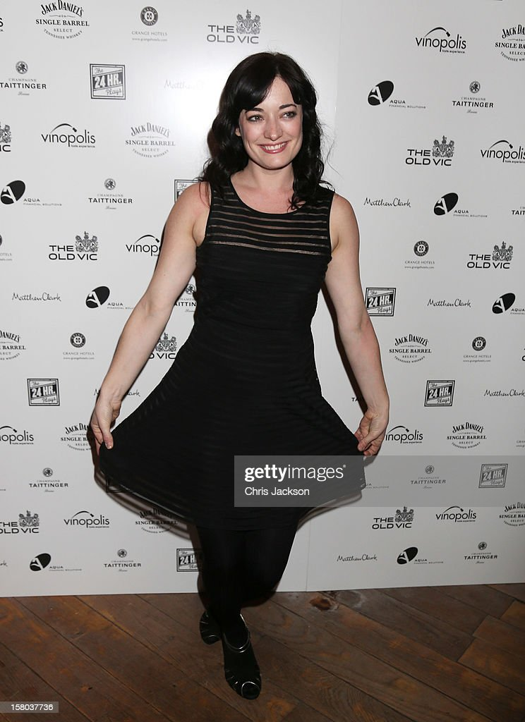 Laura Michelle Kelly attends the post-show party, The 25th Hour, following The Old Vic's 24 Hour Musicals Celebrity Gala 2012 during which guests drank Jack Daniels Single Barrel, Curtain Raiser cocktails in The Great Halls, Vinopolis, Borough on December 9, 2012 in London, England.