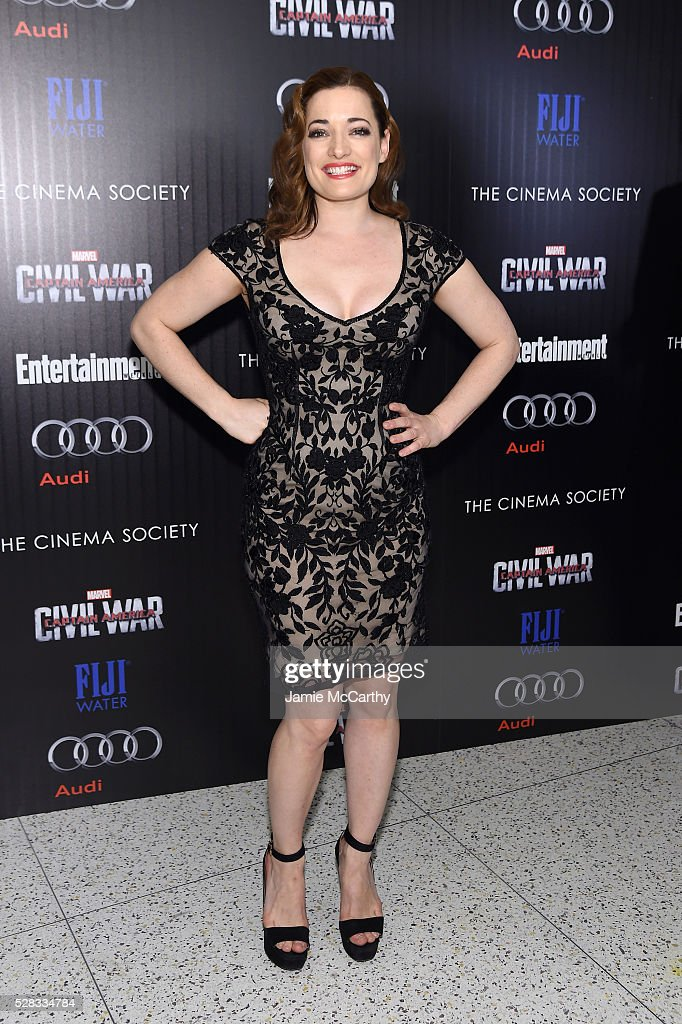 <a gi-track='captionPersonalityLinkClicked' href=/galleries/search?phrase=Laura+Michelle+Kelly&family=editorial&specificpeople=203092 ng-click='$event.stopPropagation()'>Laura Michelle Kelly</a> attends the screening Of Marvel's 'Captain America: Civil War' hosted by The Cinema Society with Audi & FIJI at Henry R. Luce Auditorium at Brookfield Place on May 4, 2016 in New York City.