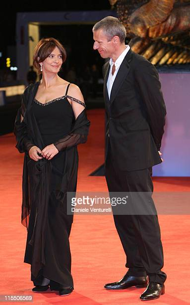 Laura Morante and Lambert Wilson during The 63rd International Venice Film Festival 'Private Fears in Public Places' Premiere at Palazzo Del Cinema...