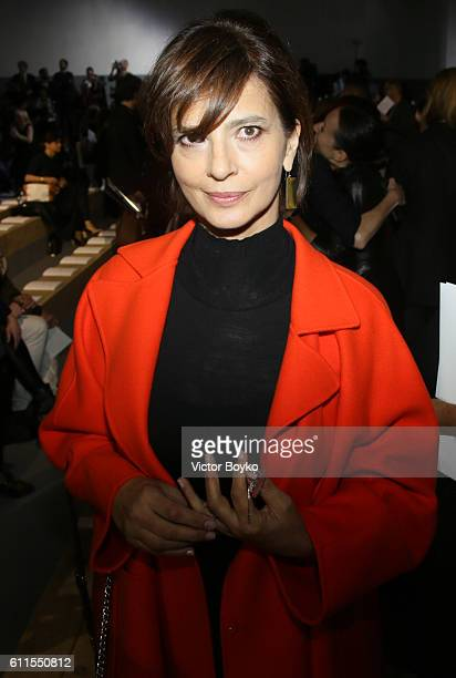 Laura Morante attends the Christian Dior show as part of the Paris Fashion Week Womenswear Spring/Summer 2017 on September 30 2016 in Paris France