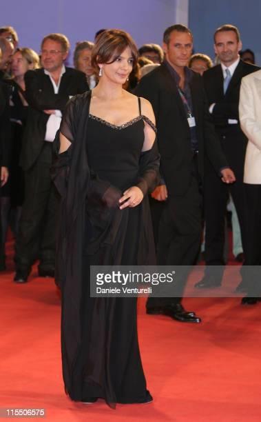 Laura Morante during The 63rd International Venice Film Festival 'Private Fears in Public Places' Premiere at Palazzo Del Cinema in Venice Lido Italy