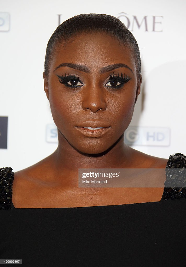 <a gi-track='captionPersonalityLinkClicked' href=/galleries/search?phrase=Laura+Mvula&family=editorial&specificpeople=10006726 ng-click='$event.stopPropagation()'>Laura Mvula</a> attends InStyle magazine's The Best of British Talent pre-BAFTA party at Dartmouth House on February 4, 2014 in London, England.