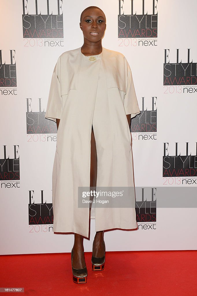 Laura Mvula attends The Elle Style Awards 2013 at The Savoy Hotel on February 11, 2013 in London, England.