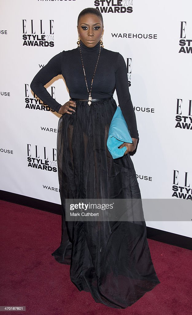 Laura Mvula attends the Elle Style Awards 2014 at one Embankment on February 18, 2014 in London, England.