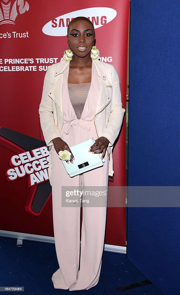 Laura Mvula attends the Prince's Trust Celebrate Success Awards at Odeon Leicester Square on March 26, 2013 in London, England.