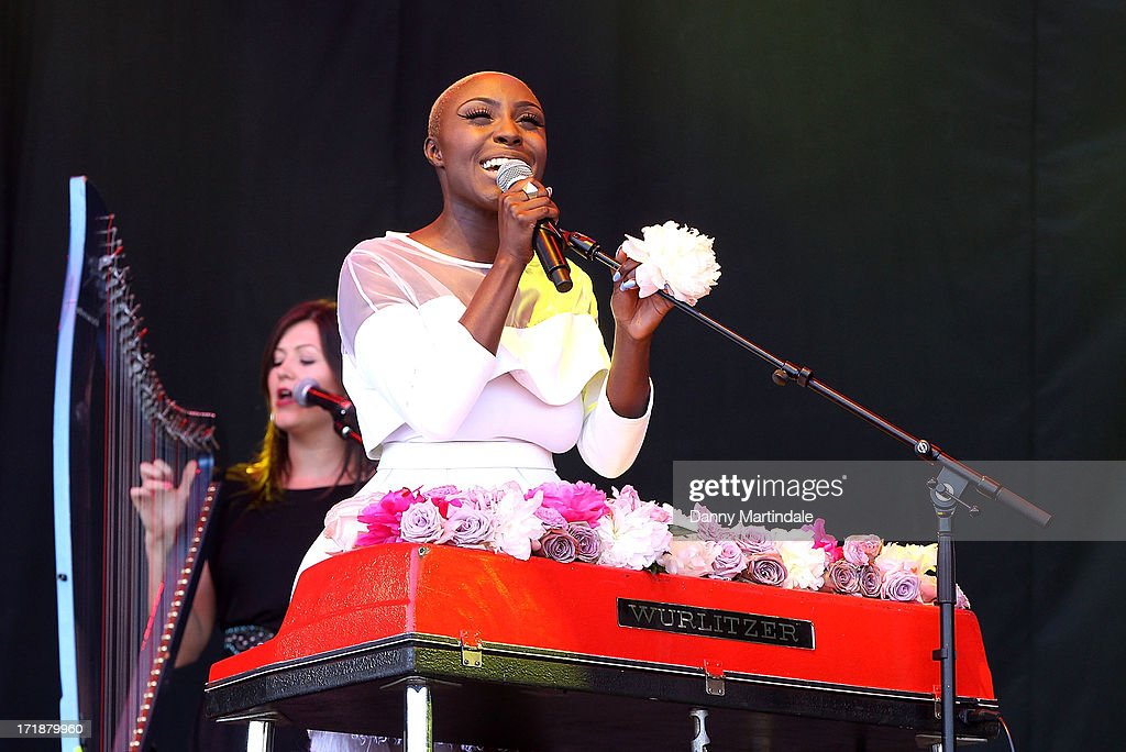 <a gi-track='captionPersonalityLinkClicked' href=/galleries/search?phrase=Laura+Mvula&family=editorial&specificpeople=10006726 ng-click='$event.stopPropagation()'>Laura Mvula</a> performs at day 3 of the 2013 Glastonbury Festival at Worthy Farm on June 29, 2013 in Glastonbury, England.