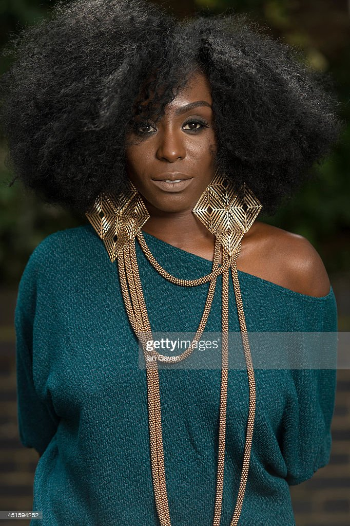 <a gi-track='captionPersonalityLinkClicked' href=/galleries/search?phrase=Laura+Mvula&family=editorial&specificpeople=10006726 ng-click='$event.stopPropagation()'>Laura Mvula</a> visits the Nordoff Robbins Music Therapy Centre on July 2, 2014 in London, England.