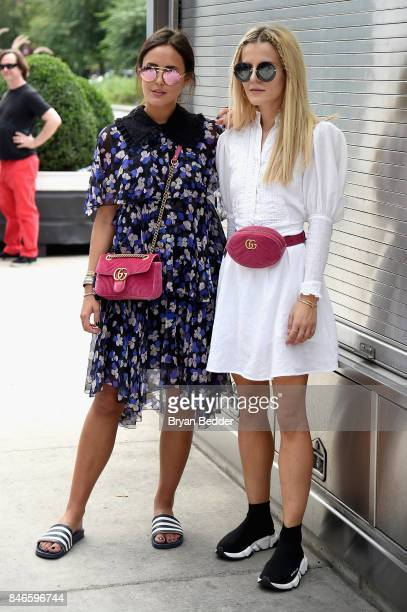 Laura Noltemeyer and Marina the Moss attend the Pharrell Williams And GStar RAW Present The New GStar Elwood X25 Prints New York Fashion Week...