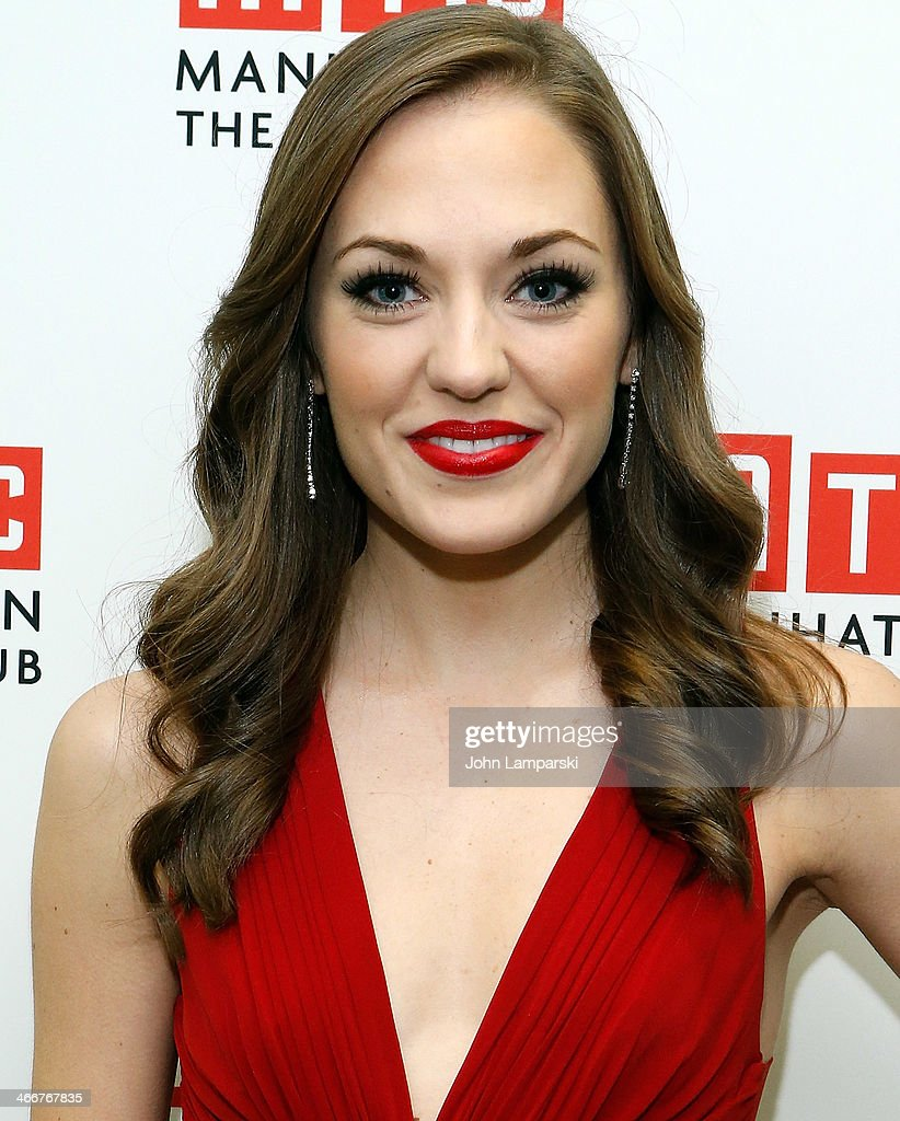 <a gi-track='captionPersonalityLinkClicked' href=/galleries/search?phrase=Laura+Osnes&family=editorial&specificpeople=4213655 ng-click='$event.stopPropagation()'>Laura Osnes</a> attends Manhattan Theatre Club's 2014 Winter Benefit at Manhattan Theater Club on February 3, 2014 in New York City.