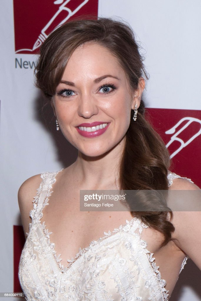 Laura Osnes attends the 68th Annual New Dramatists Spring Luncheon at New York Marriott Marquis Hotel on May 16, 2017 in New York City.
