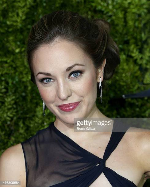 Laura Osnes attends the American Theatre Wing's 69th Annual Tony Awards at Radio City Music Hall on June 7 2015 in New York City