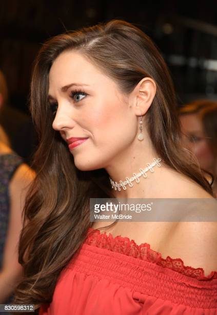 Laura Osnes during the Corey Cott Sardi's Portrait unveiling at Sardi's Restaurant on August 11 2017 in New York City