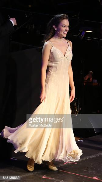 Laura Osnes during the Manhattan Concert Productions 25th Anniversary concert performance of 'Crazy for You' at David Geffen Hall Lincoln Center on...