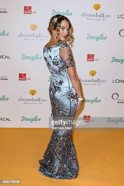 Laura Osswald attends the Dreamball 2014 at Ritz Carlton on September 11 2014 in Berlin Germany