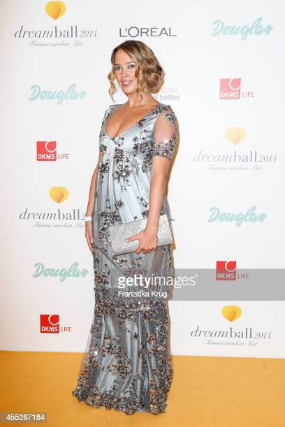 Laura Osswald attends the Dreamball 2014 at the Ritz Carlton on September 11 2014 in Berlin Germany