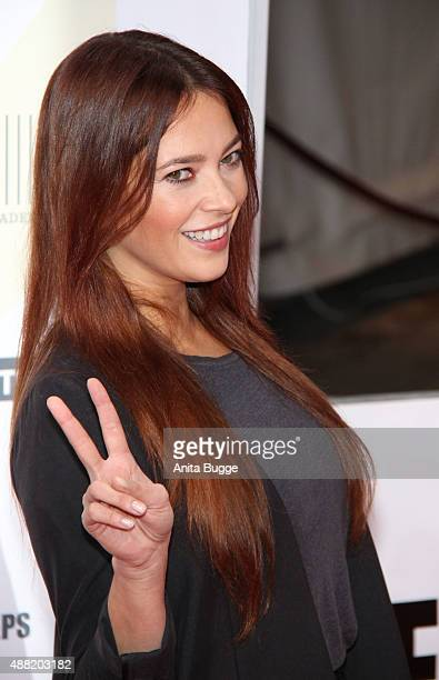 Laura Osswald attends the First Steps Awards 2015 at Stage Theater on September 14 2015 in Berlin Germany
