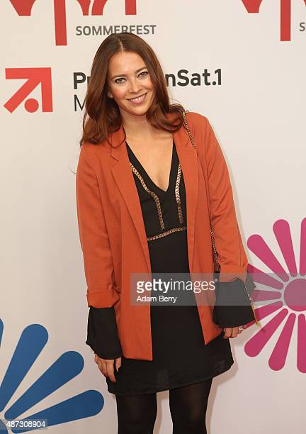 Laura Osswald attends the VPRT summer reception on September 8 2015 in Berlin Germany