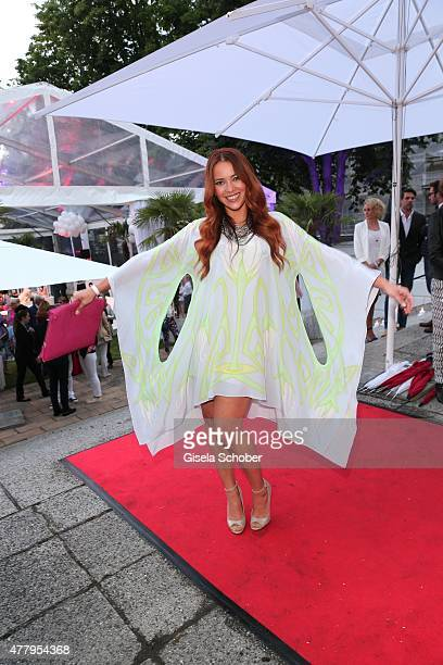 Laura Osswald during the Raffaello Summer Day 2015 to celebrate the 25th anniversary of Raffaello on June 20 2015 in Berlin Germany