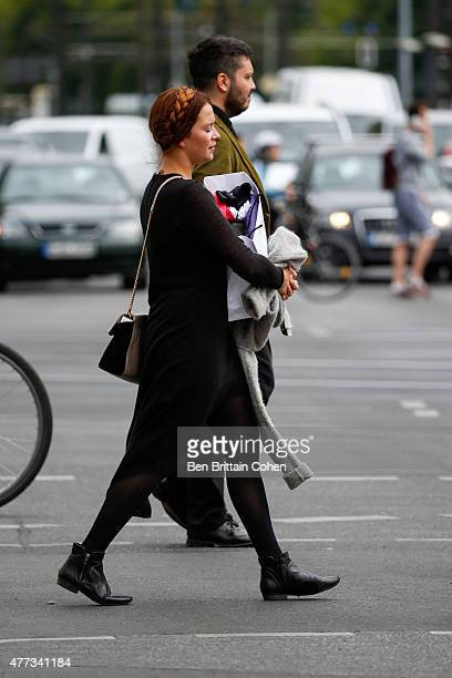 Laura Osswald sighted on June 16 2015 in Berlin Germany