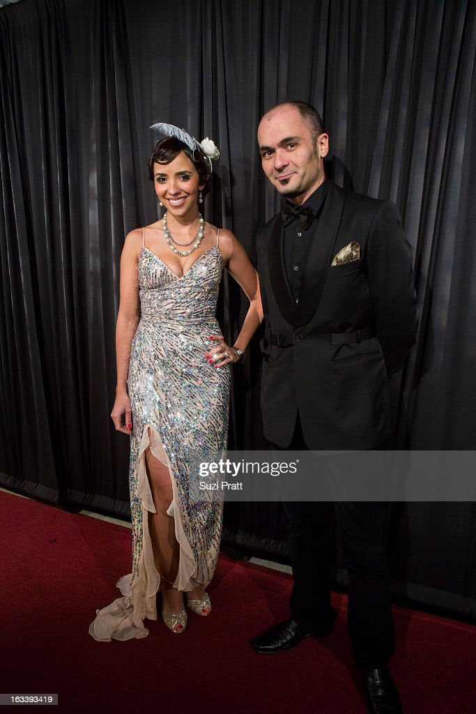 Laura Pacelli and Danny Pentin at the Sodo Comes Alive event at Aston Manor on March 8, 2013 in Seattle, Washington.