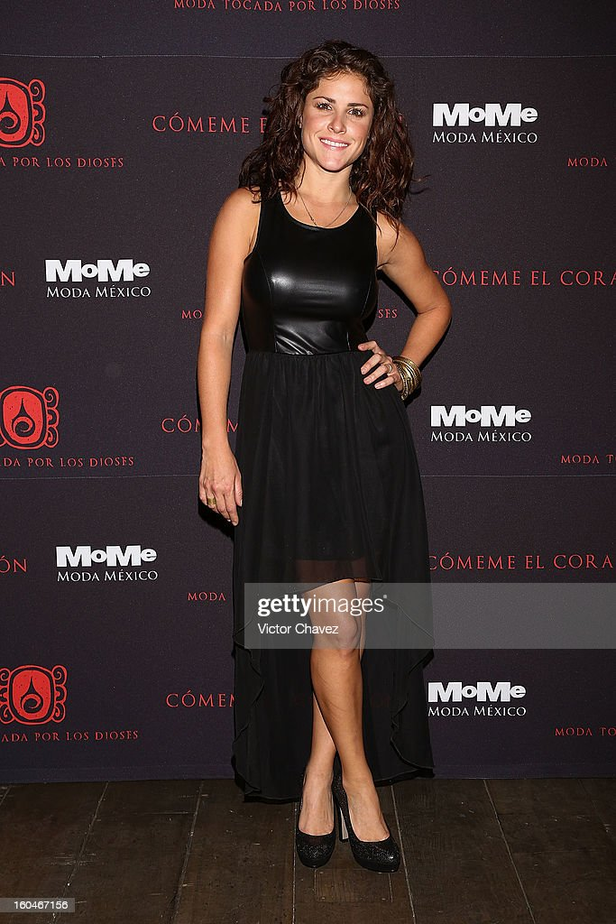Laura Palma attends the Comeme El corazon Moda Tocada Por Los Dioses event at Estacion Indianilla on January 31, 2013 in Mexico City, Mexico.