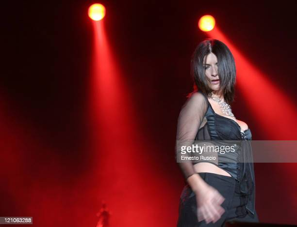 Laura Pausini during Laura Pausini 'Resta in Ascolto' Tour at Fiesta in Rome July 5 2005 at Fiesta in Rome Italy