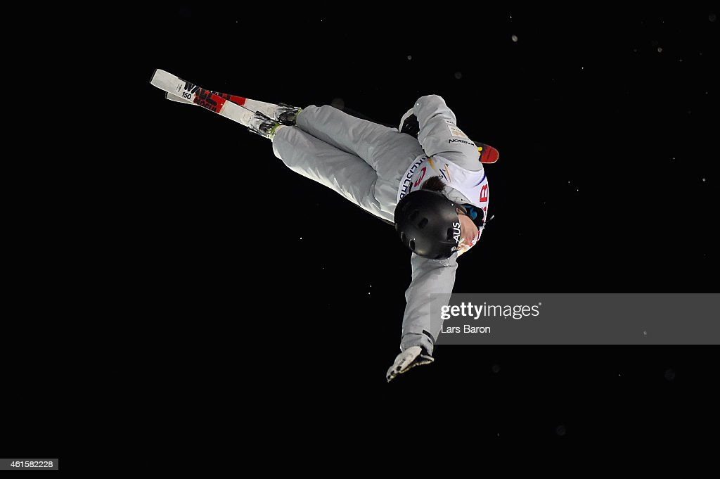 <a gi-track='captionPersonalityLinkClicked' href=/galleries/search?phrase=Laura+Peel&family=editorial&specificpeople=7476976 ng-click='$event.stopPropagation()'>Laura Peel</a> of Australia competes during the Men's Aerials Final of the FIS Freestyle Ski and Snowboard World Championship 2015 on January 15, 2015 in Kreischberg, Austria.