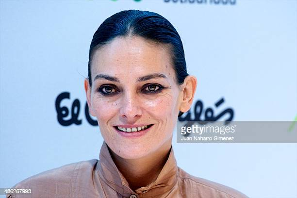 Laura Ponte attends a charity bags presentation at El Corte Ingles on April 23 2014 in Madrid Spain