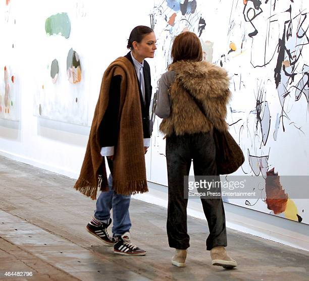 Laura Ponte attends ARCO 2015 International Contemporary Art Fair at Ifema on February 25 2015 in Madrid Spain